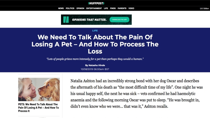 natalia-ashton-perfect-cocker-spaniel-book-press-huffington-post-how-to-deal-with-loss-of-pet