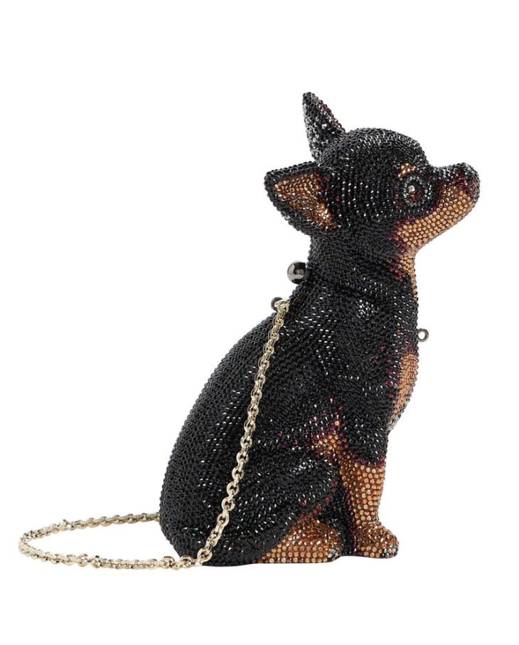 Best christmas presents for dog lovers gift guide / minaudière crystal-embellished Mickey Chihuahua bag by Judith Leiber / Perfect cocker spaniel / English cocker spaniel dog blog, advice, puppy tips, grooming / (C) Natalia Ashton
